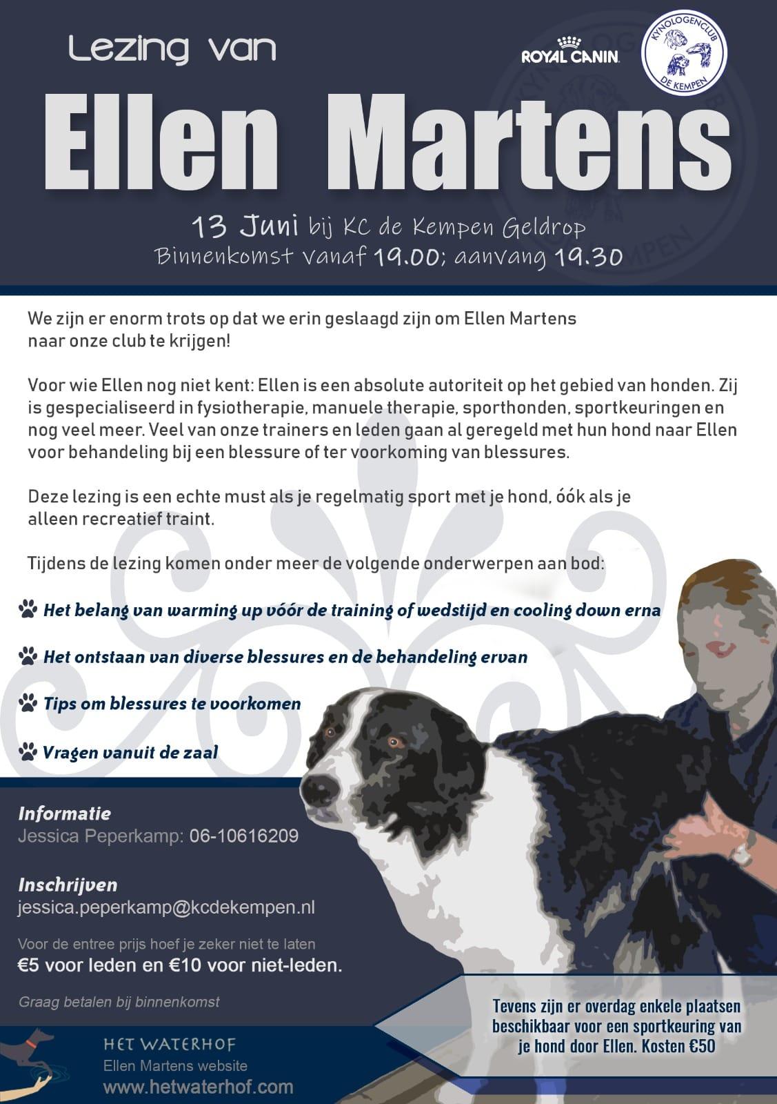 Lezing van Ellen Martens